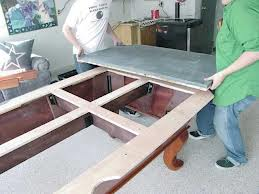 Pool table moves in Flint Michigan