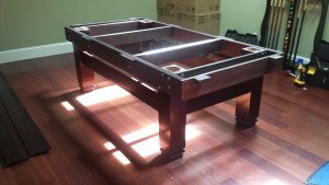 Correctly performing pool table installations, Flint Michigan